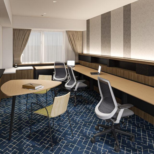 【2021/6/16】客室のカスタムオフィス化を実施します!